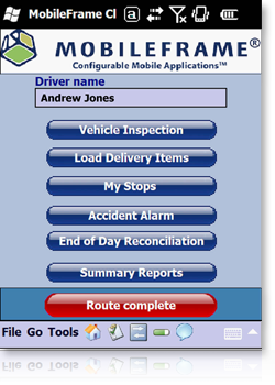 MobileFrame Direct Store Delivery Applications Suite