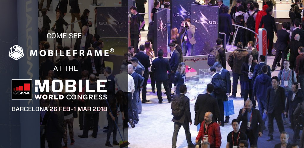MobileFrame attending 2018 Mobile World Congress