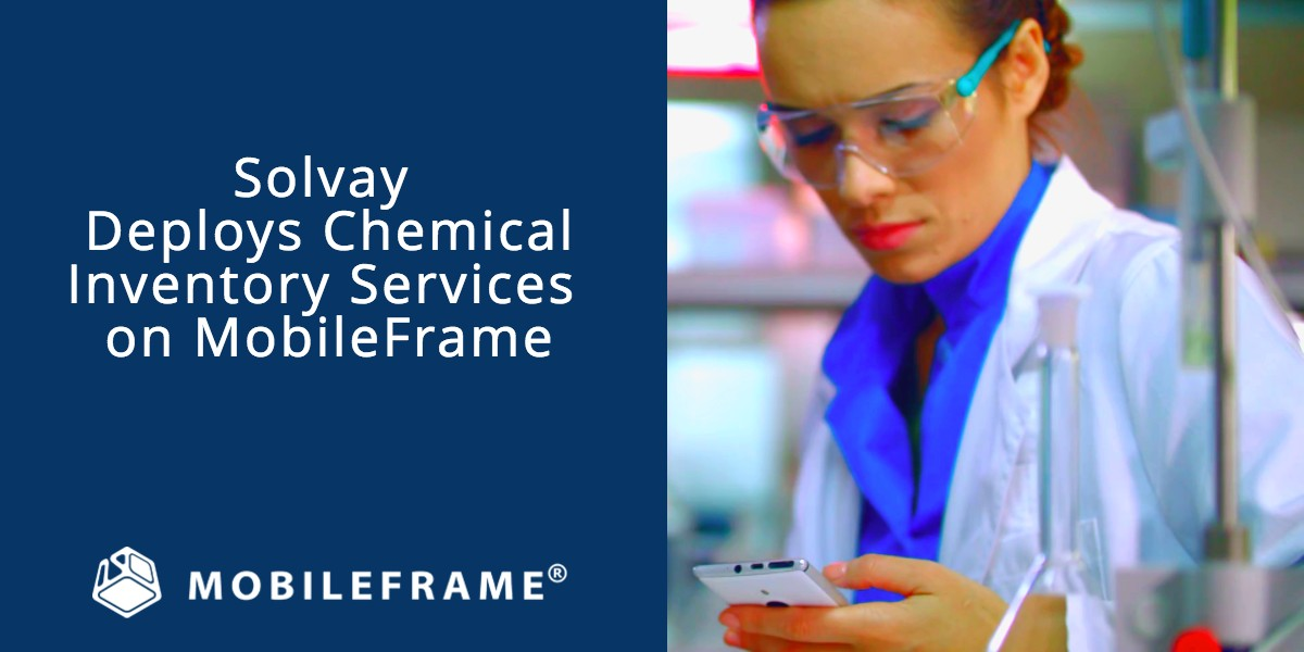 Solvay deploys inventory management system on MobileFrame mobile app development platform